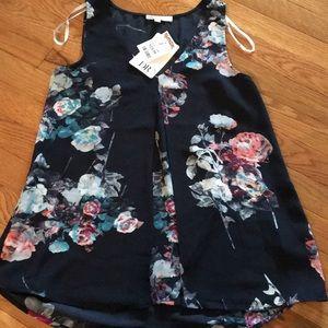 DR2 Daniel Rainn sleeveless blouse NWT size small
